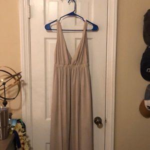 Mumu bridesmaid dress